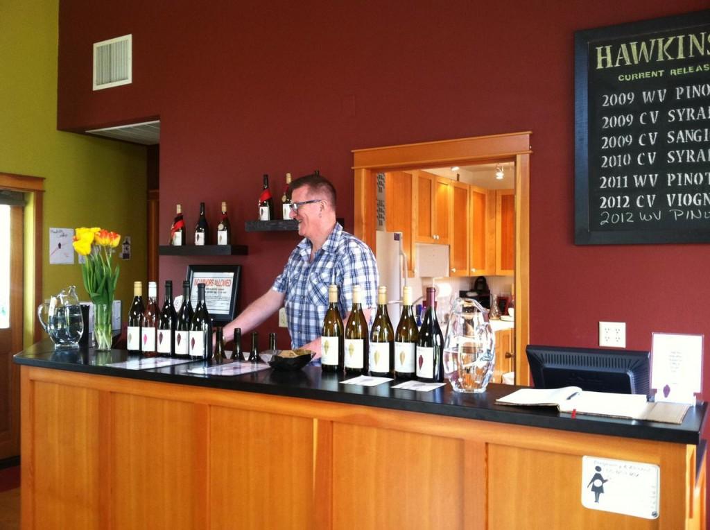 Hawkins Cellars Dundee Tasting Room
