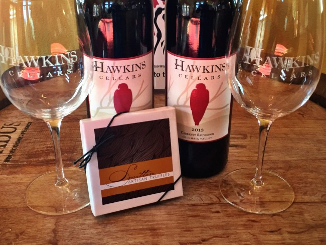 Join us Valentines weekend as we team up with Smitten Artisan Truffles to create a wine and chocolate experience. The Smitten team will be creating ... & Cab and Chocolate Valentines - Hawkins Cellars - Hawkins Cellars