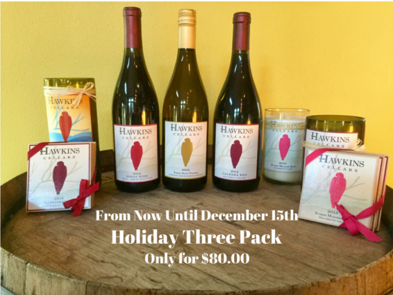 Holiday three pack