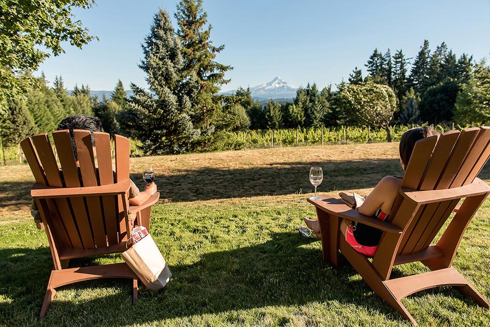 Hood River Oregon Wine Tasting Hawkins Cellars