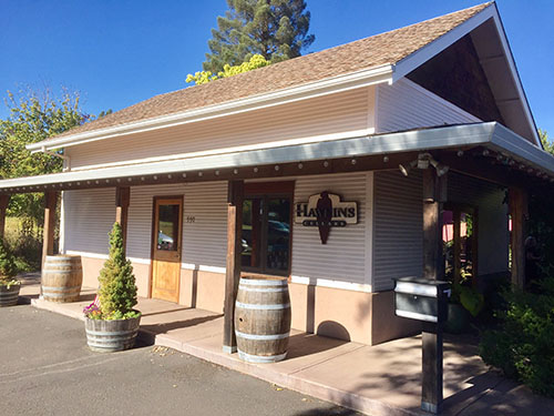 Hawkins Cellars Exterior Photo of Dundee Oregon Wine Tasting Room